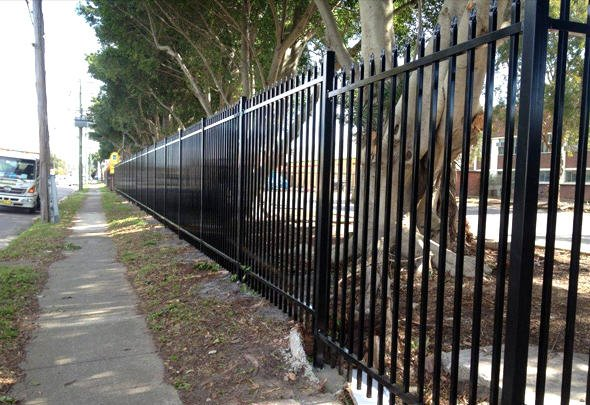 home security fencing - chainwire fencing newcastle, fencing newcastle