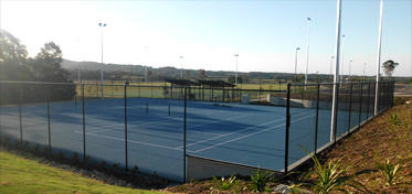game court fencing newcastle