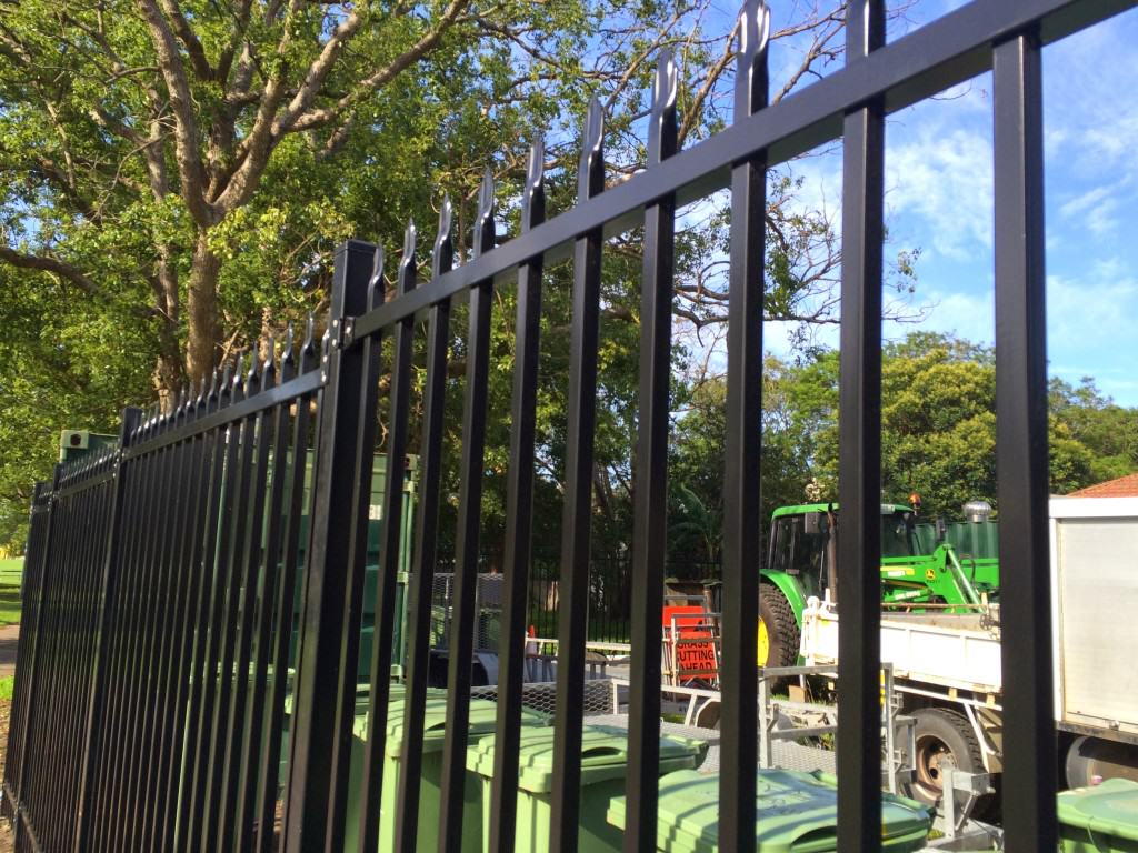 secure storage area for equipment - chainwire fencing newcastle, fencing newcastle