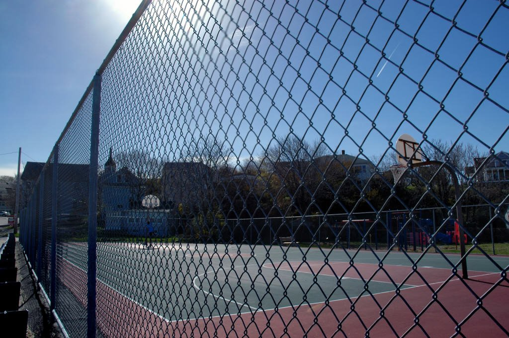 court fencing - chainwire fencing newcastle, fencing newcastle