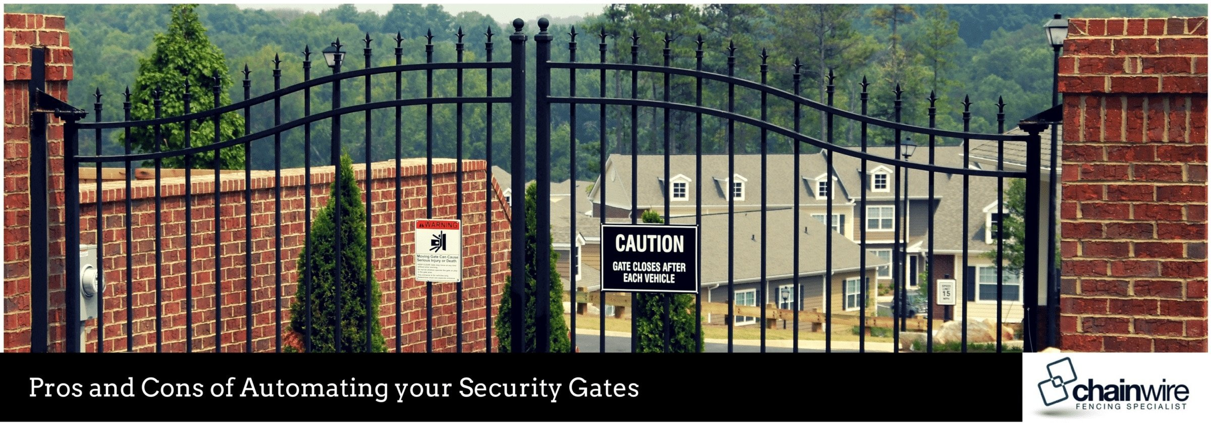 Pros and Cons of Automating your Security Gates - Fencing Specialists