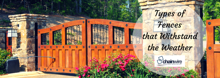 Types of Fences that Withstand the Weather - Fencing Specialists