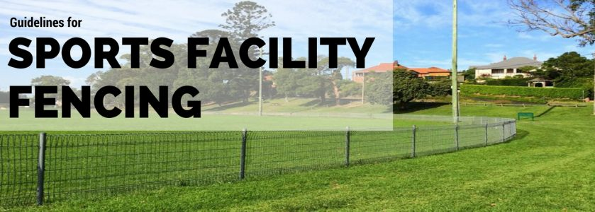 Guidelines for Sports Facility Fencing (1)