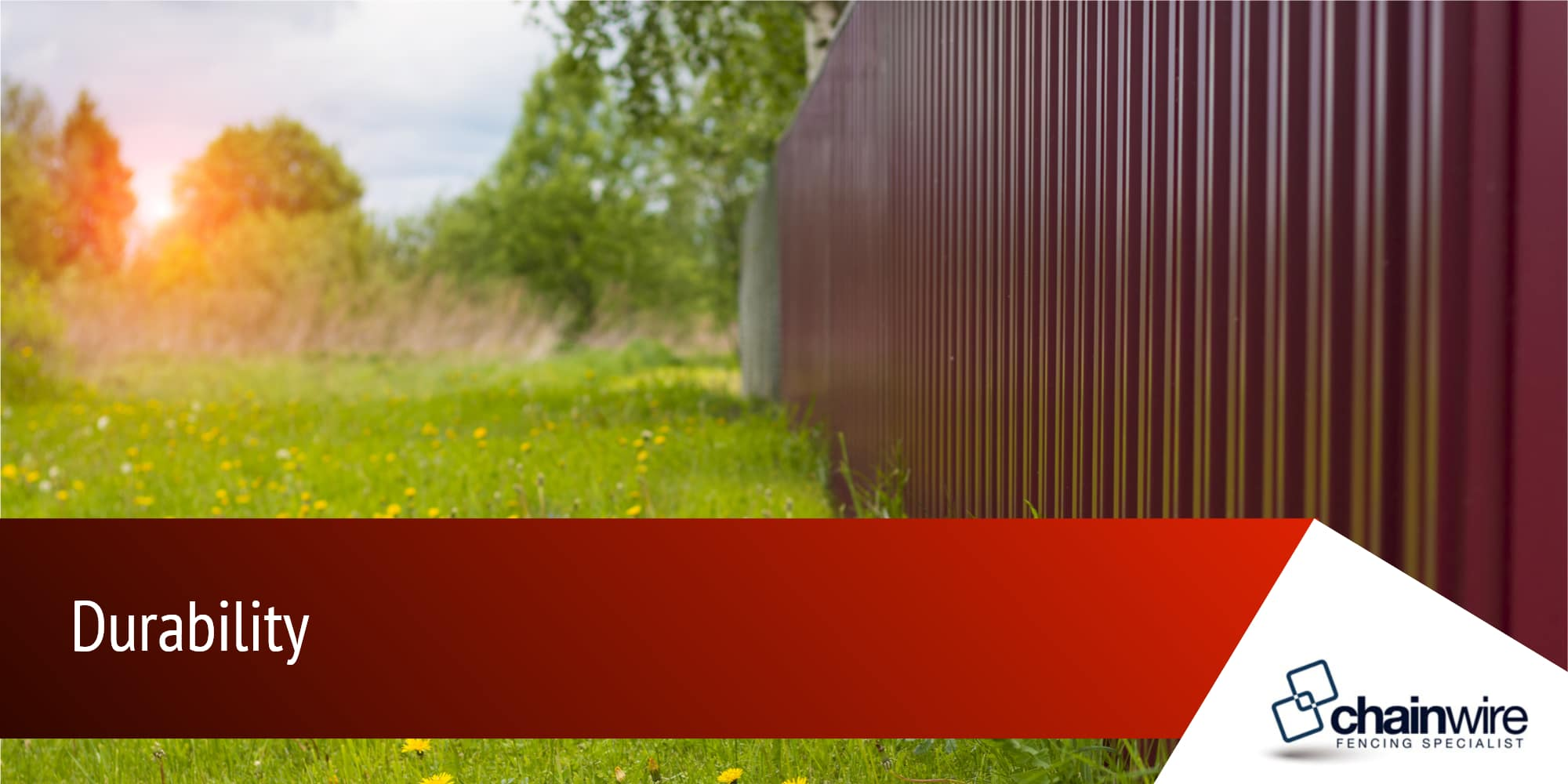 What are Powder Coated Aluminium Fences? - Chainwire Fencing Specialist