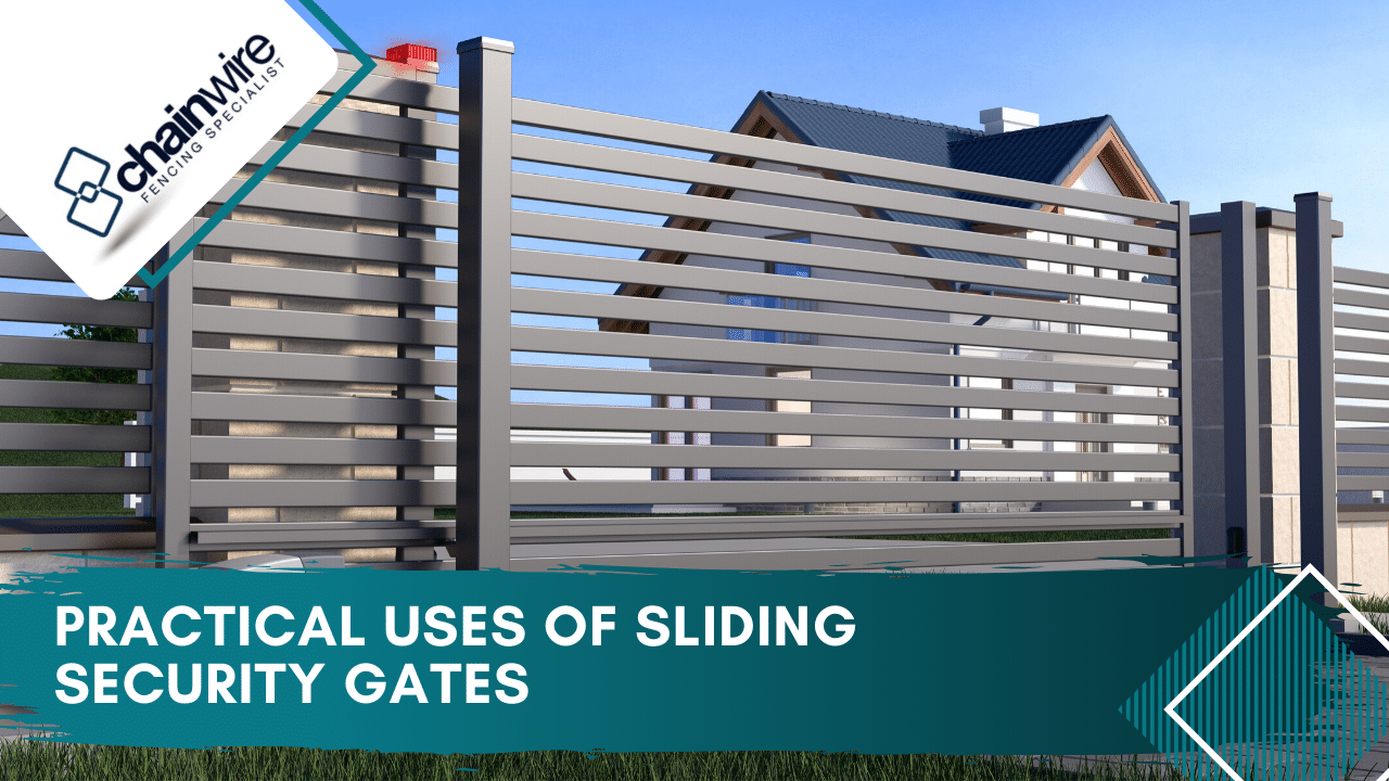 When to use sliding security gates - sliding security gate