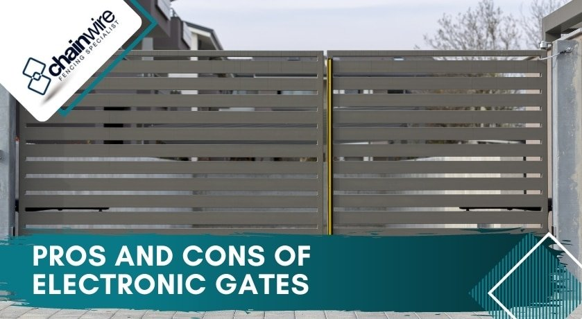 Pros and Cons of Electronic Gates