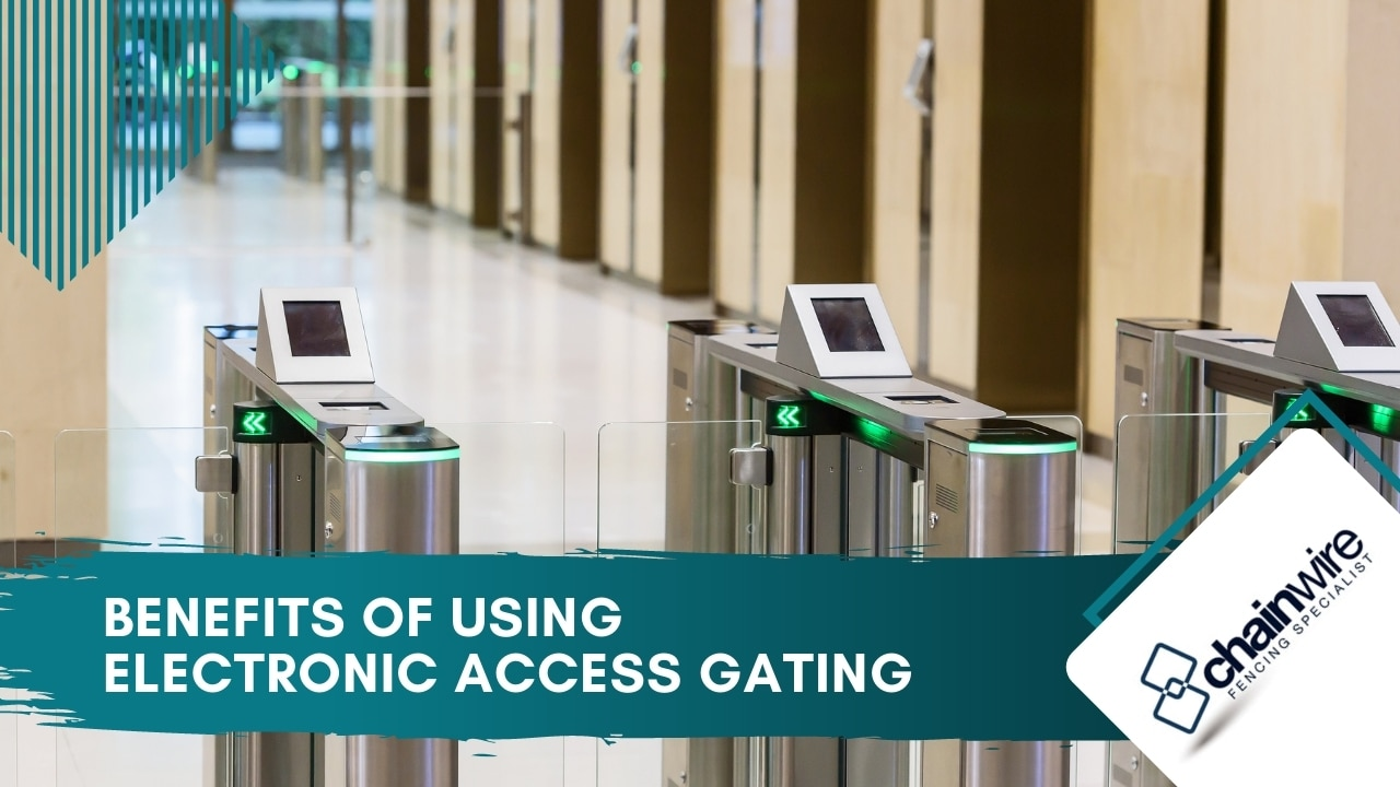 Benefits of using electronic access gating