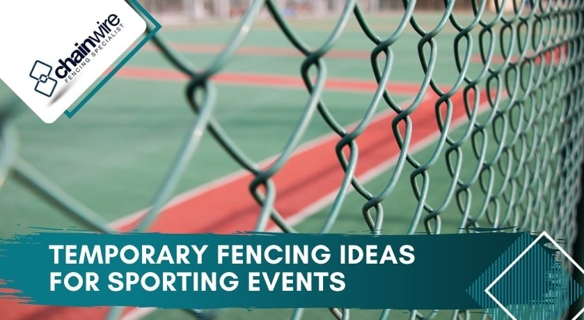 Temporary Fencing Ideas for Sporting Events