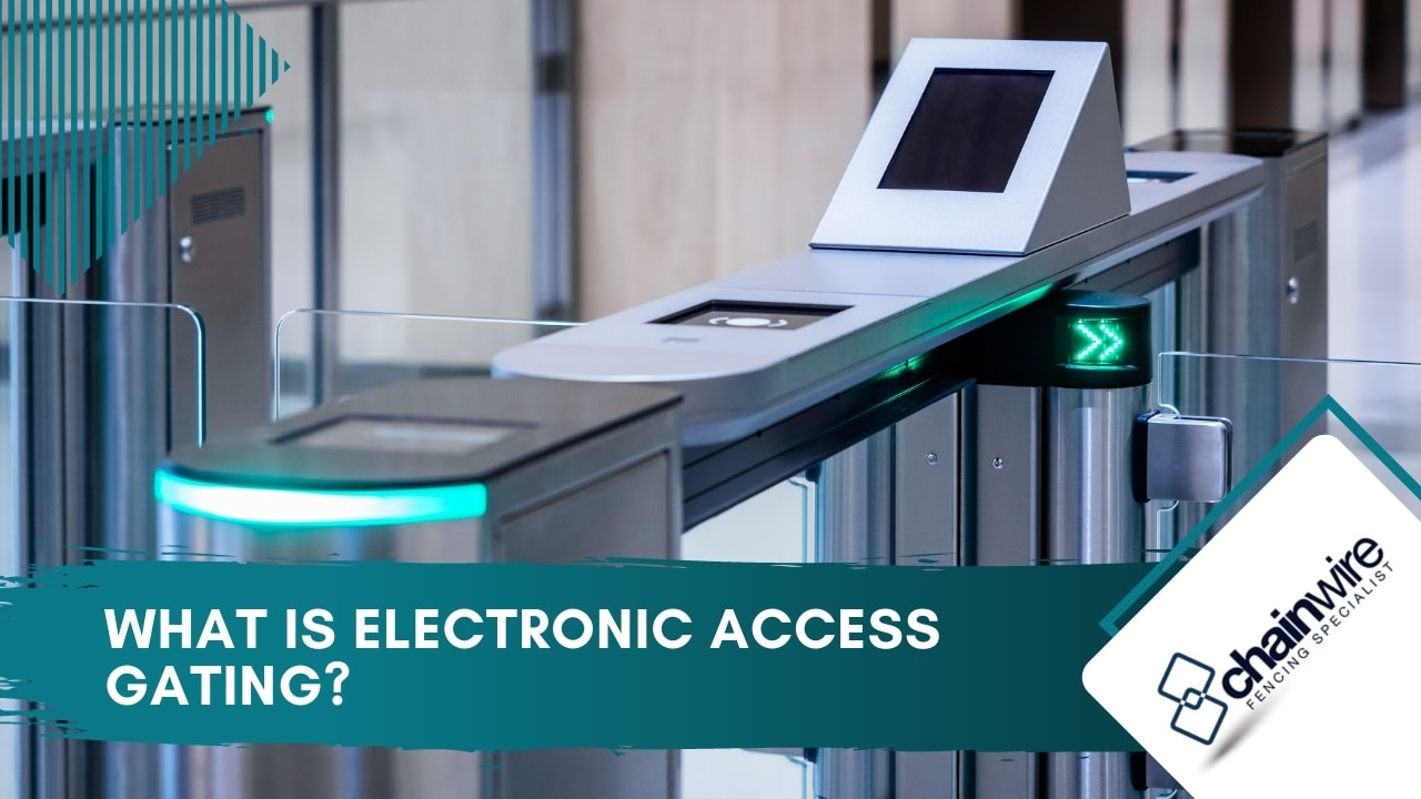 What is electronic access gating?