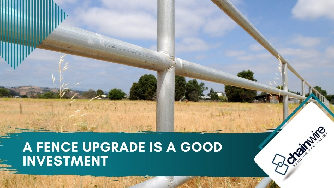 A fence upgrade is a good investment
