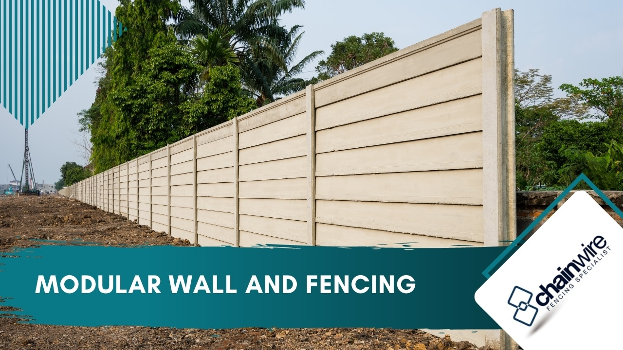 Modular Wall and Fencing