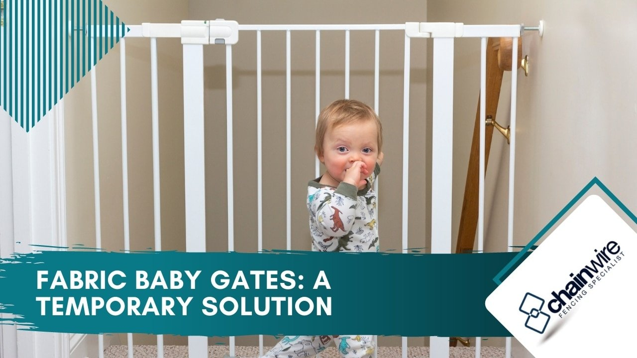 Fabric Baby Gates A Temporary Solution