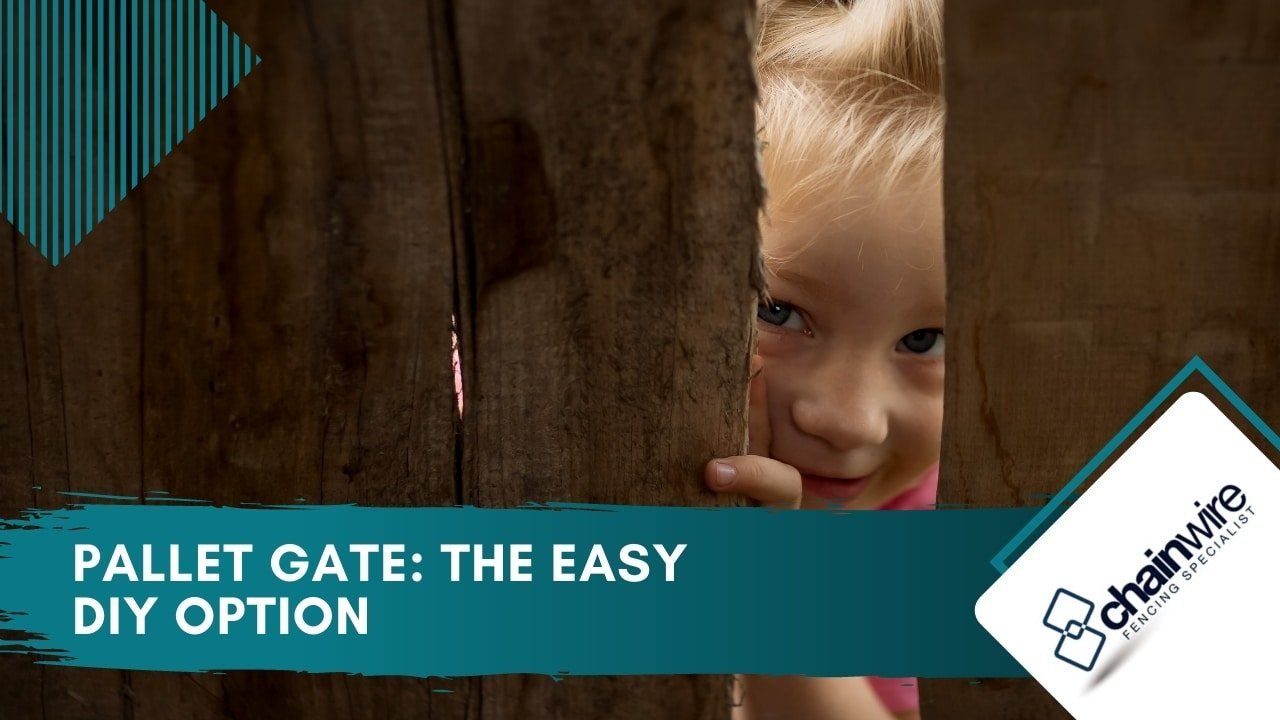 Pallet Gate The Easy DIY Option
