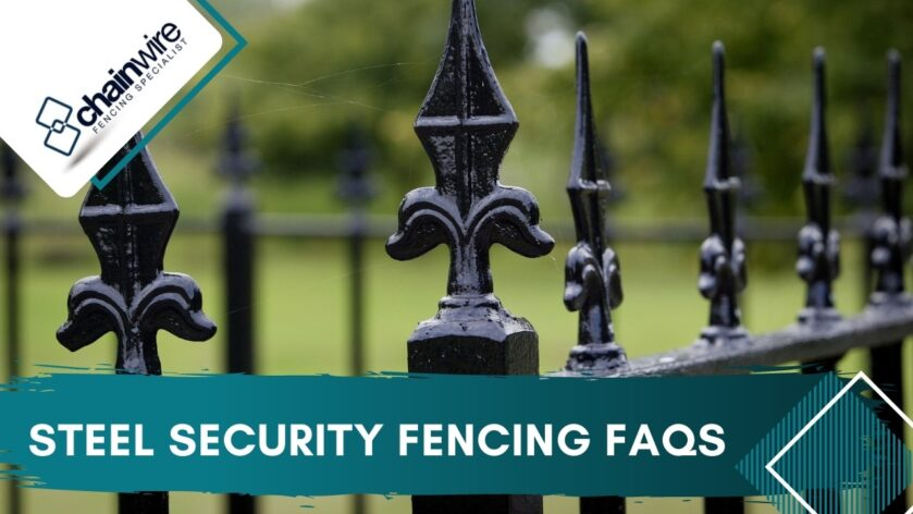 Steel Security Fencing FAQs