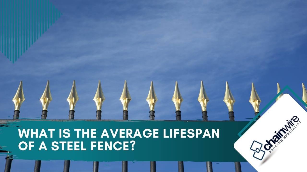 What Is the Average Lifespan of a Steel Fence