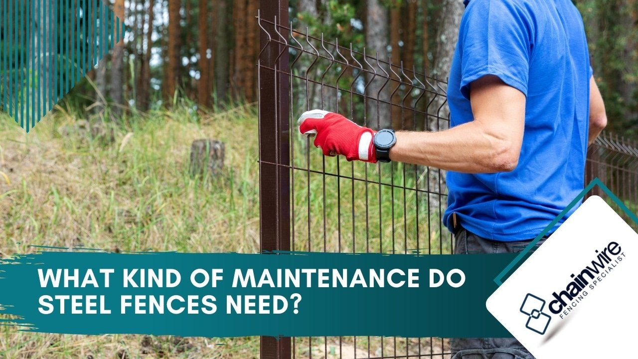 What Kind of Maintenance Do Steel Fences Need