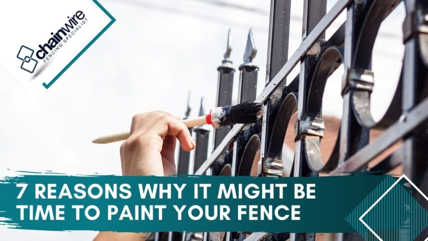 7 Reasons Why It Might Be Time to Paint Your Fence title